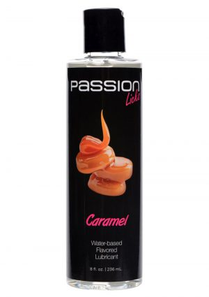 Passion Licks Flavor Lube Caramel 8oz