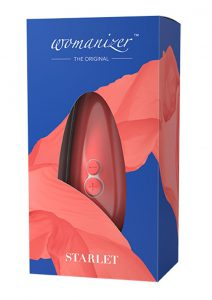 Womanizer Starlet 2 Clitoral Stimulator Rechargeable Waterproof Silicone Coral