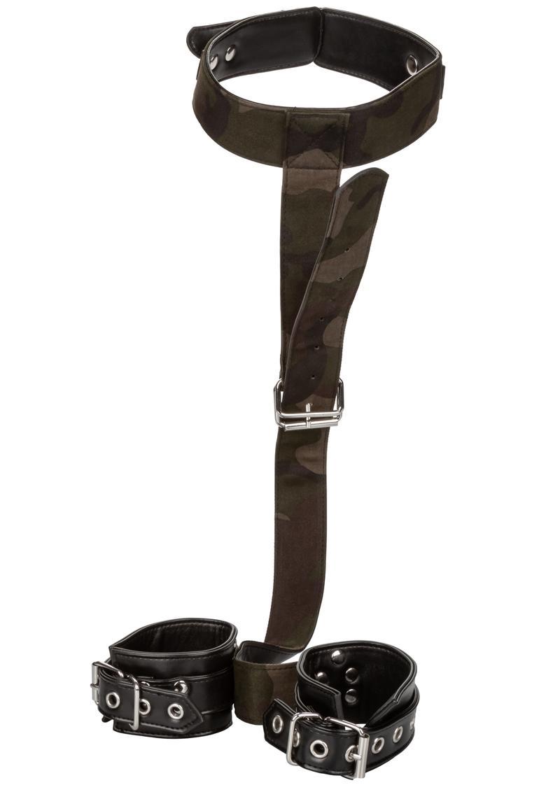 Colt Camo Collar and Cuffs Bondage Adjustable