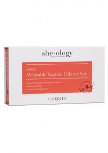 She-ology Wearable Vaginal Dialator 5pc Set Silicone Waterproof