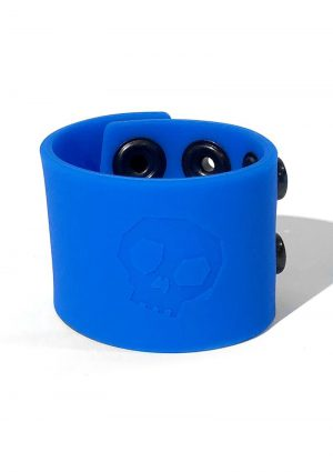 Boneyard Silicone Ball Strap 1.5 Inches Stretcher Blue