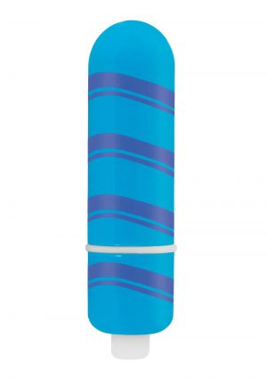 Rock Candy Fun Size Candy Stick Blue