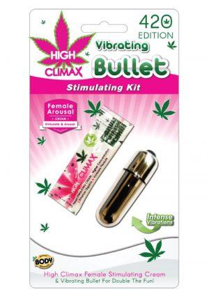 High Climax Vibrating Bullet Stimulating Kit