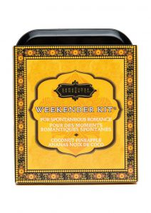 Weekender Kit Couples Romance Bath and Shower Coconut Pineapple