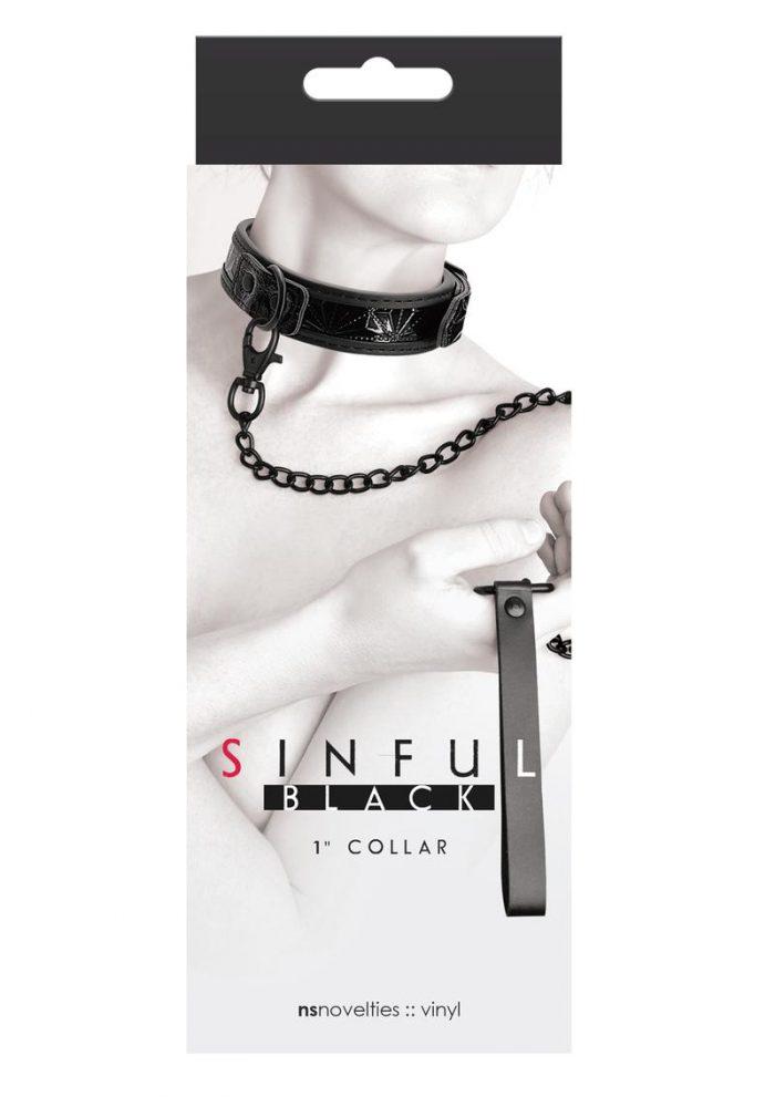 Sinful Collar 1 Black