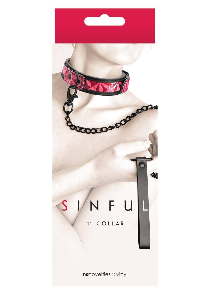 Sinful Collar 1 Pink