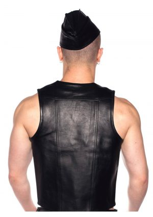 Prowler Red Waistcoat Blk Lg