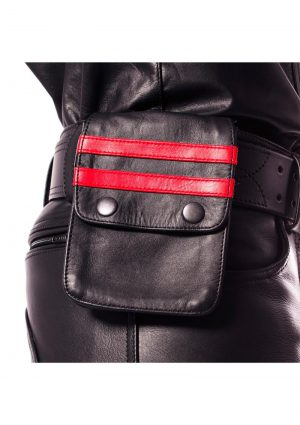 Prowler Red Leather Wallet Blk/red Os