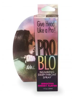Pro Blo Numbing Spray Cherry 1oz