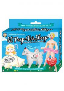 Miniature Series Lil` Peep and Her Sheep Mini Inflatable Dolls