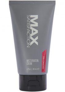Max Satisfaction Masturbate Cream 3 Oz
