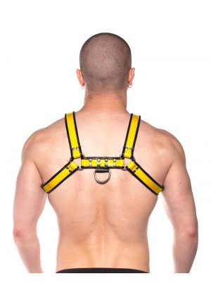 Prowler Red Bull Harness Blk/yell Xxlg