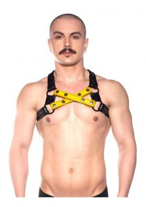 Prowler Red Cross Harness Blk/yell L/xl