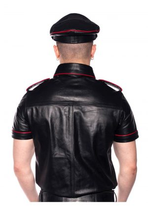 Prowler Red Police Shirt Pipe Blk/red Lg