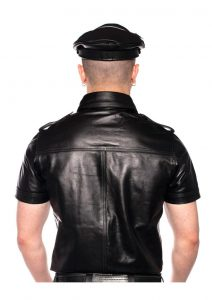 Prowler Red Police Shirt Blk Xs