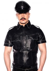 Prowler Red Police Shirt Pipe Blk/gry Xs