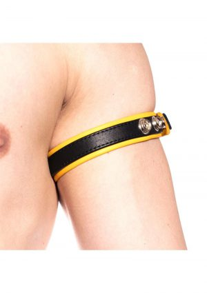 Prowler Red Bicep Band Blk/yell Os