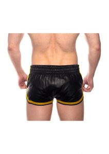 Prowler Red Leather Sport Shorts Yell Xl