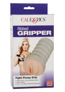 Ribbed Gripper Tight Pussy Ivory