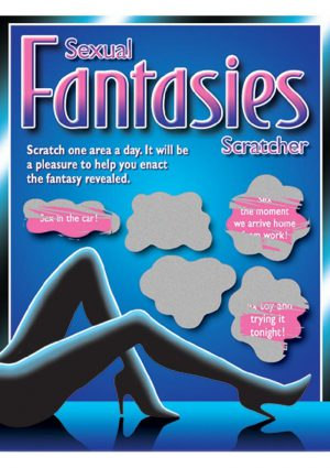Sexual Fantasies Scratchers