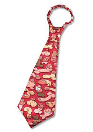 Pecker Tie Novelty Item