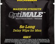 Optimale So Long Delay Wipes 10ct Pack