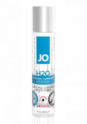 JO H2O Water Based Lubricant Warming 1oz