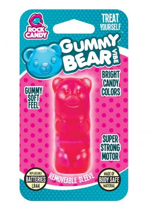 Rock Candy Gummy Bear Vibe Splashproof Pink
