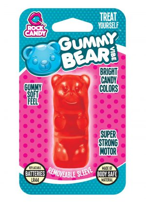 Rock Candy Gummy Bear Vibe Splashproof Red