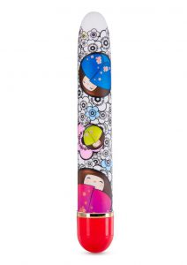 The Collection Play Flirty Slim Vibrator - Red