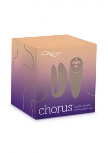 We-Vibe Chorus Couples Vibrator With Squeeze Control Waterproof Rechargeable Purple