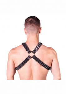 Prowler Red Ballistic Harness Blk/sil Sm