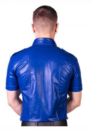 Prowler Red Slim Police Shirt Blu Md