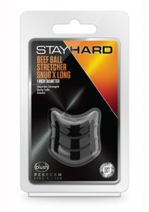 Stay Hard Beef Ball Stretcher Snug - Black