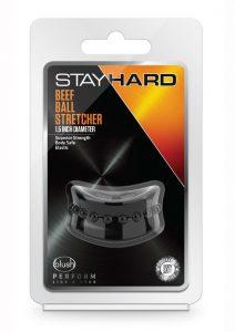 Stay Hard Beef Ball Stretcher Snug X Long - Black
