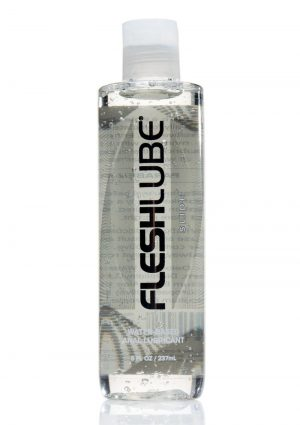 Fleshlubes Personnel  Water Based Anal Lubricant 8 oz Bottle Unscented