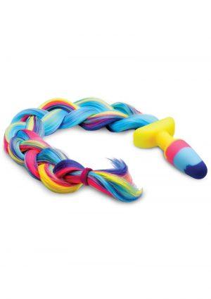 Tailz Rainbow Unicorn Tail Plug