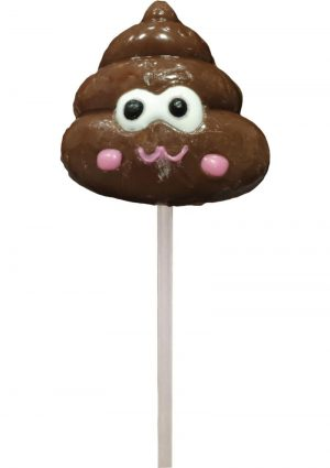 Shit Face Chocolate Flavored Poop Pop