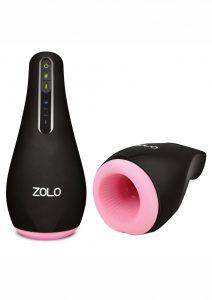 Zolo Heatstroke Pulsating Male Masturbator With Warming Function Waterproof Rechargeable