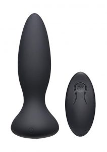 A-play Thrust Advent Plug W/remote Blk