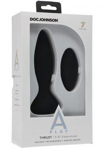 A-play Thrust Experi Plug W/remote Blk