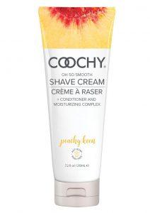 Coochy Oh So Smooth Shave Cream Peachy Keen 7.2 Ounce Tube