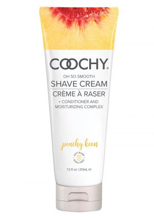 Coochy Oh So Smooth Shave Cream Peachy Keen 7.2 Ounce Tube
