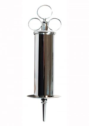Rouge Stainless Steel Enema Syringe