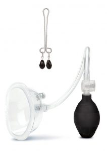 Lux F Deluxe Pussy Pump - Clear