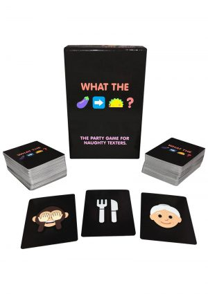 What The (Eggplant to Taco)? Naughty Emoji Card Game