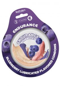 Endurance Condoms Blueberry 3pk
