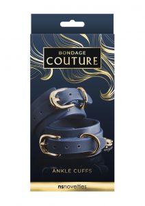 Bondage Couture Ankle Cuff - Blue