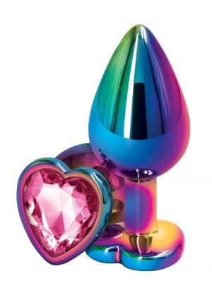 Rear Assets Multicolor Heart Med Pink
