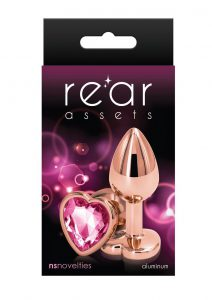 Rear Assets Rose Gold Heart Small Pink